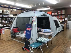今年もファミリーキャンプはこれで決まり! タフスクリーン2ルームハウスMDX+入荷!