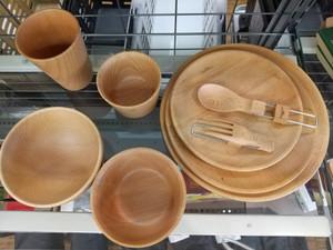 10日間限定販売!!オシャレな木皿やカトラリー♪