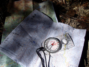 みっちり学ぶ、地図とコンパス講座