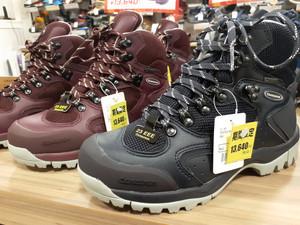 【期間限定】履きやすいキャラバン登山靴がお買い得に!(広島紙屋町店)