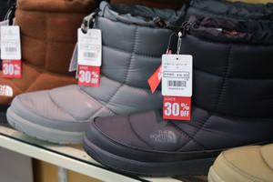 【冬物商品割引拡大中です!】TNFヌプシブーティ―30%OFFバーグハウスウエア一部50%OFF