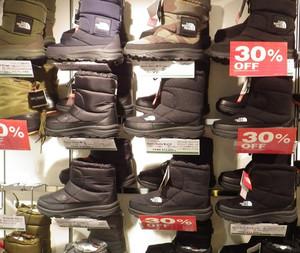 THE NORTH FACEの防寒ブーツが30%OFFになりました!