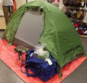 お買い得テント! DUNLOPツーリングテント R-127K