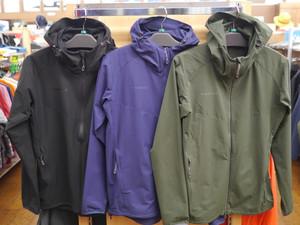 マムートの山でも街でも使えるジャケット