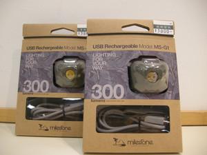 マイルストーンのヘッドライト新商品が入荷致しました
