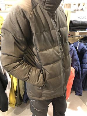 寒波に備えてマムートのあったか~~いダウンジャケット♪