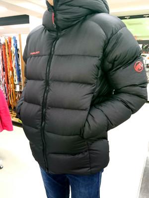 マムートのダウンジャケットがすごい!