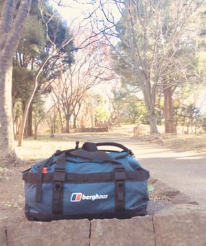 背負える!たためる!大容量の遠征バッグ!!山登りでも旅行でも大活躍します♪