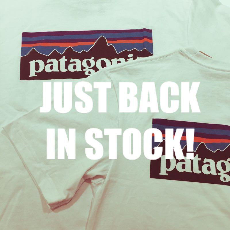★奇跡の再入荷★パタゴニアの白いTシャツがいまなら店頭に!