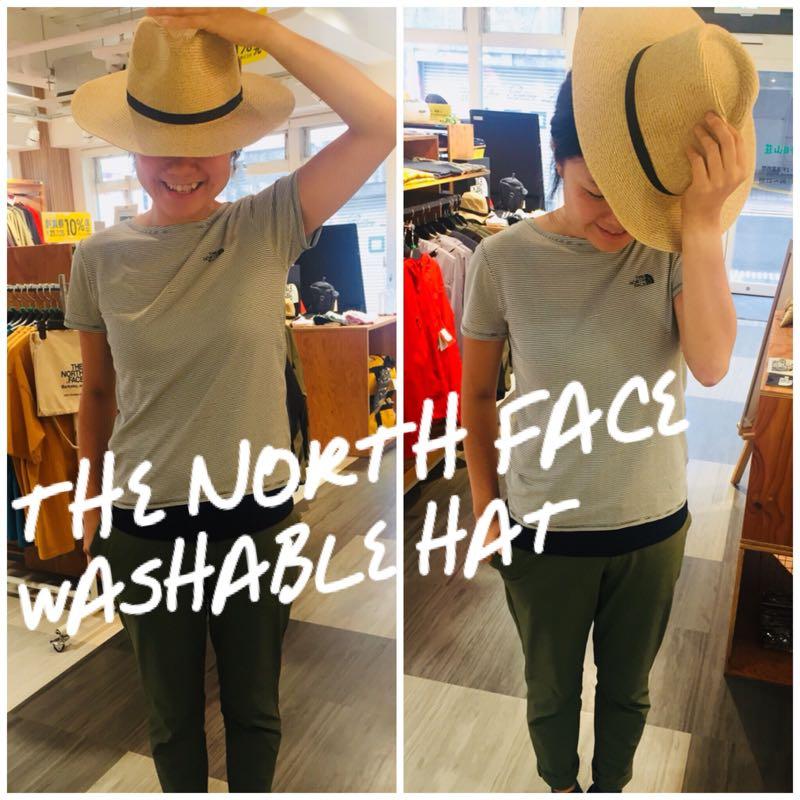 洗える麦わら帽子!THE NORTH FACEから入荷しています!!