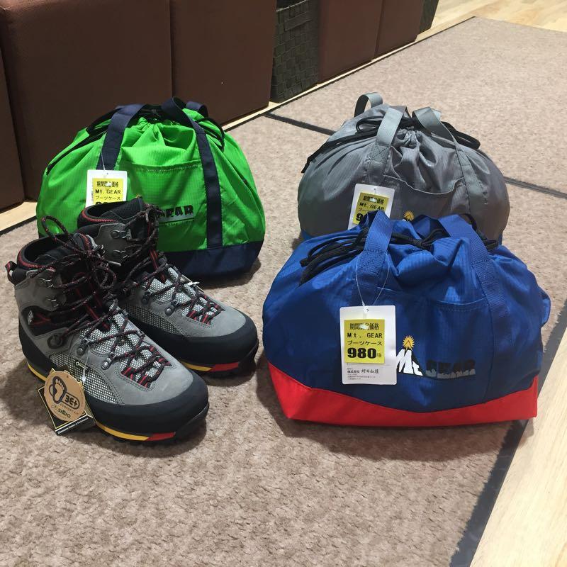 ★再入荷★売切れていた大人気Mt.GEARのブーツケース